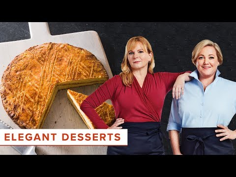 How to Make Elegant Desserts like Millionaire's Shortbread and Gateau Breton with Apricot Filling