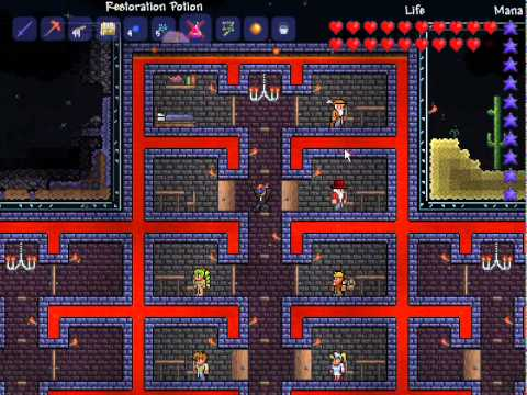How To Collect Jungle Grass Seeds In Terraria With Pictures