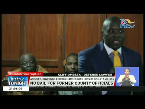 Lawyer Cliff Ombeta 'charges at judge' for denying bail to former Nairobi county officials