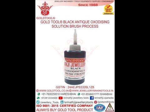 Gold Tool Black Antique Oxodised Solution - Srinathji Jewellery Tools