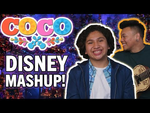 Un Poco Loco DISNEY MASHUP with Anthony Gonzalez