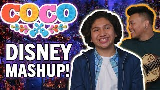 Un Poco Loco DISNEY MASHUP with Anthony Gonzalez