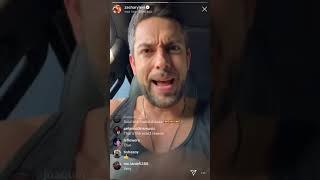 Zachary Levi Instagram Live - May 20, 2019