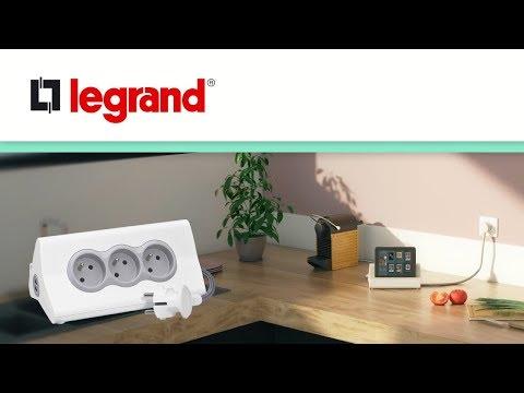 Découvrez la multiprise support tablette Legrand