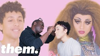 Jaboukie Young-White Gets a Drag Makeover from Bob The Drag Queen | Drag Me | them.