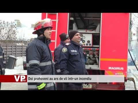 Doi prahoveni au ars de vii într-un incendiu