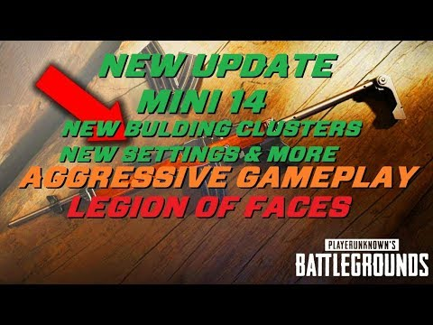 🔴 NEW UPDATE! Mini-14, Tommy gun, Towns + More  Aggressive / Tactical Waiting Pubg Gameplay 🔴