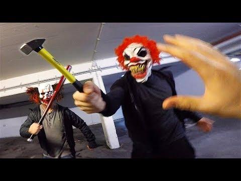 Horror Clowns VS Parkour POV | Creepy Halloween Chase