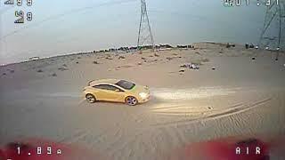2.5 inch Avan Rush JHEMCU GHF411AIO 53 gram 2S Desert Freestyle FPV DVR
