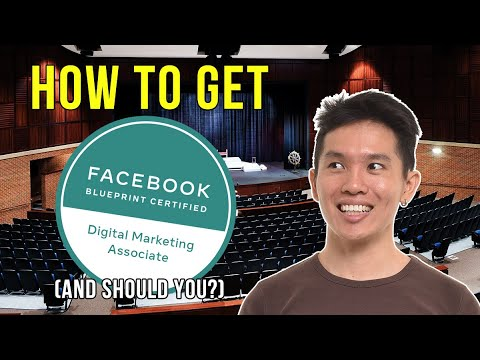How To Get The Facebook Blueprint Certification For Digital ...
