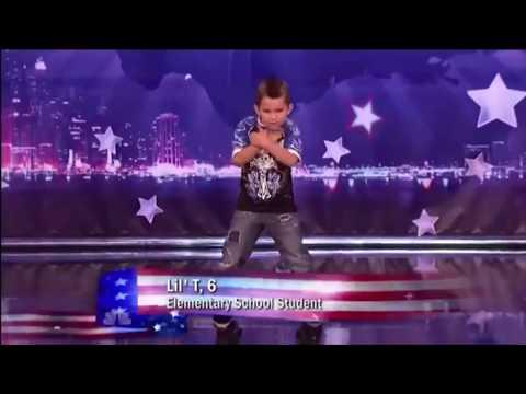 Kid Dances To Lil Pump