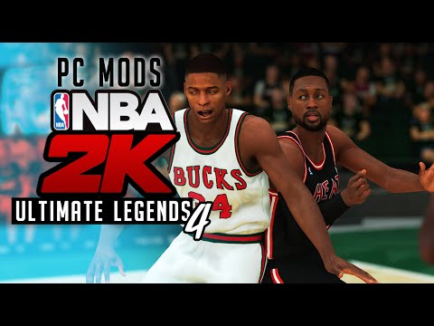 NBA 2K19 PC - Heroes, Costumes, and Character Mods