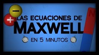 Las Ecuaciones de Maxwell en 5 Minutos