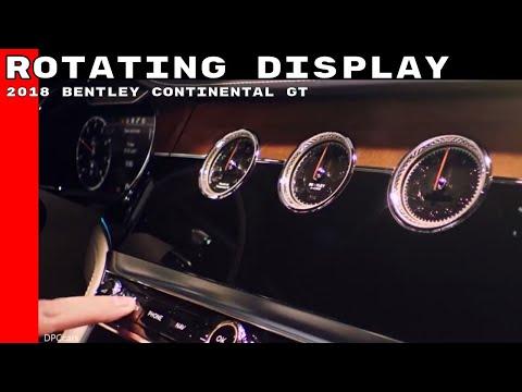2018 Bentley Continental GT Rotating Display