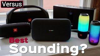 Google Home Max Vs Bose Soundtouch 30 Vs JBL Boombox Vs JBL Xtreme