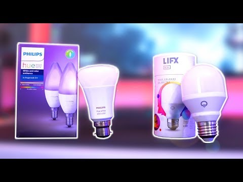 Philips Hue VS LIFX Review – What Are The BEST Smart Lights?