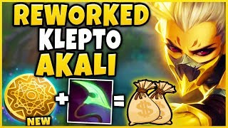 *NEW* MONEY MAKING AKALI BUILD (MAX BUILD IN 23 MINUTES) KLEPTO REWORK