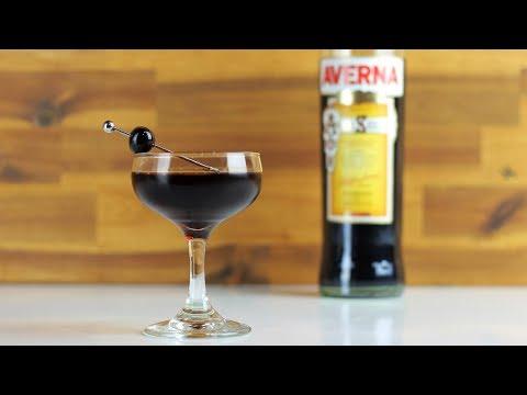 BLACK MANHATTAN Cocktail Recipe – L VE IT!!