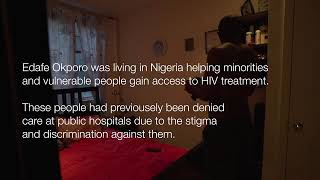 Human Rights Activists Edafe Okporo | Author of #bed26