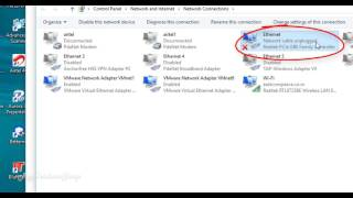 Network Cable Unplugged || How To Fix Internet Turning Off and On constantly on window 10