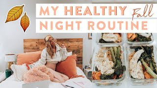 My Real HEALTHY Fall Night Routine 2019 | Easy Meal Prep Hacks!