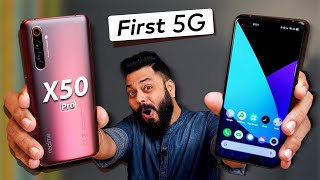 Realme X50 Pro Hands-On & First Impressions ⚡⚡⚡ A LOT More than Just 1st 5G Smartphone!