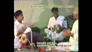 LIVE - 1984 Thani by Guru Tiruvarur Vaidyanathan