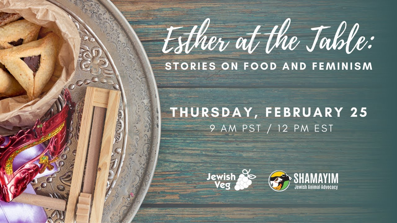 Esther at the Table: Stories on Food and Feminism