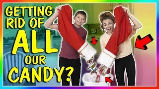 GETTING RID OF ALL OUR CANDY!😱  We Are The Davises