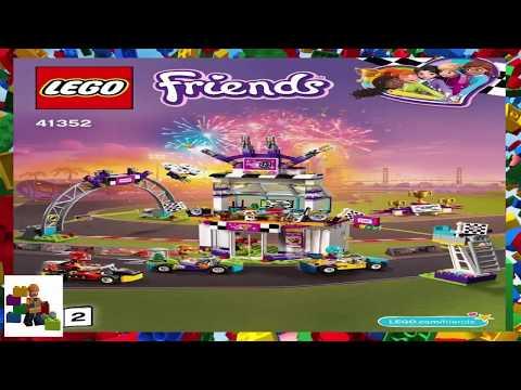 Lego Friends Heartlake City Playmat Square Tiles 853671