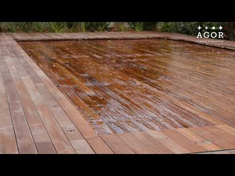Movable floor in swimming pool - Agor Creative Engineering