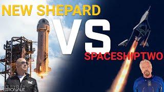 Blue Origin VS Virgin Galactic // How do they compare?