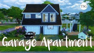 The Sims 4: Garage Apartment - CC Speed Build