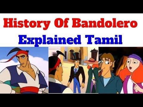 History Of Bandolero Animated Series - Explained Tamil
