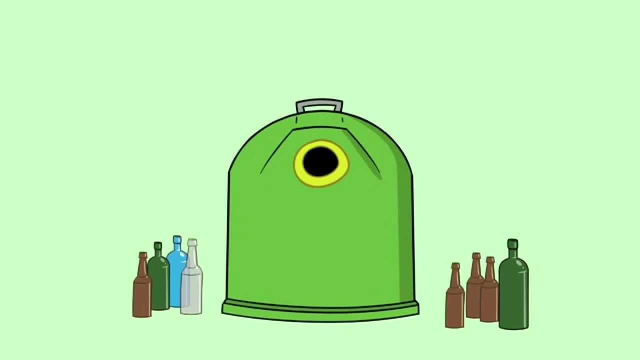 Qué va en el contenedor verde