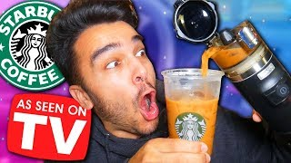 This INSTANTLY Makes STARBUCKS IN YOUR CAR! *As Seen On Tv CAR PRODUCTS TEST*