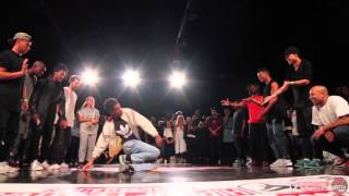 FINAL Crew Battle Team France VS Team Holland | HipHop Festival 2015