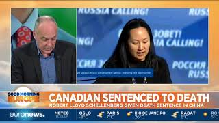 Canadian Robert Lloyd Schellenberg sentenced to death in China | #GME