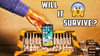 IPhone X versus Shredder | Who will win? - Video Youtube