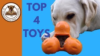 4 Tough Toys To Keep Dogs Busy