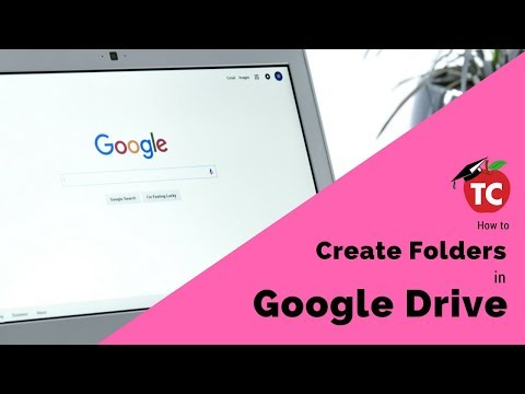 Creating and Nesting Folders in Google Drive