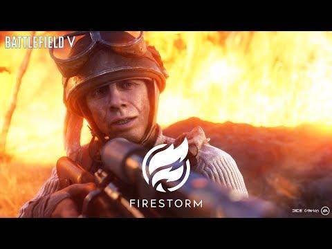 Trailer de gameplay pour Firestorm, le Battle Royale de Battlefield V
