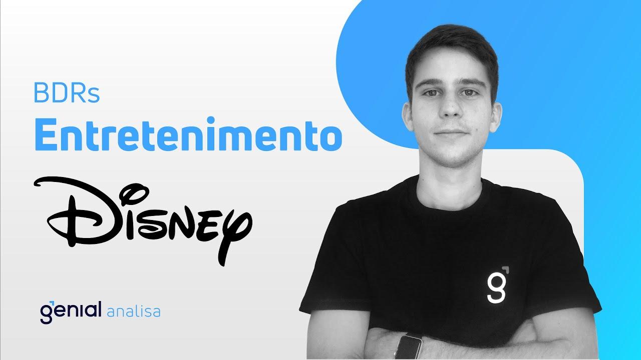 Thumbnail do vídeo: Vale a pena investir em Disney (DISB34)? Confira nossa análise!