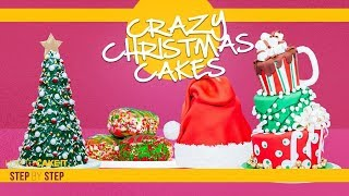 Crazy Christmas Cakes Compilation   Delicious Mindblowing Holiday Treats   How To Cake It