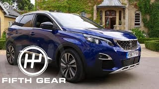 Fifth Gear AD: Peugeot 3008 SUV iCockpit Review