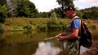 Зимняя рыбалка на реке иж