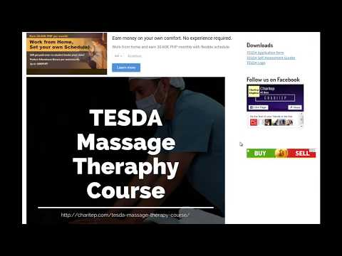 TESDA Massage Therapy Training Course 2019 - YouTube