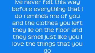 Avril Lavigne - When youre gone - Lyrics