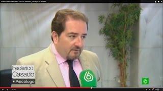 Federico Casado Reina como Psicólogo en Informativos La Sexta - 22/04/2015 - Federico Casado Reina