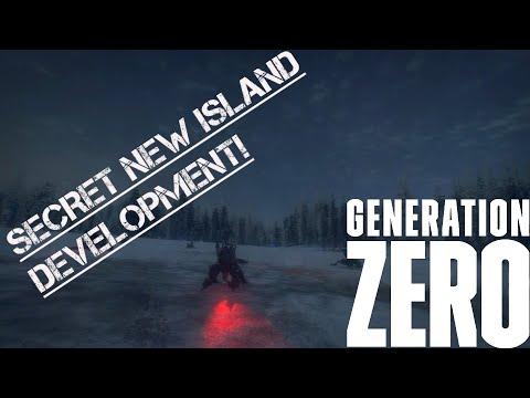 Secret Island being developed! // Generation Zero (NEW SAFEHOUSE LOCATION)